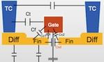 FinFET capacitances diagram