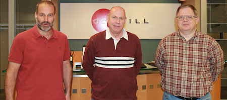 From left-to-right: Mike Peters, Ty Sell, Don Allingham (Source: Dot Hill Systems)