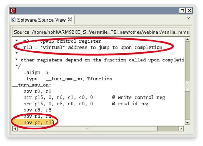 Source code link (Source: Synopsys)