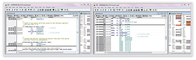 Multi-cluster debugging (Source: Synopsys)