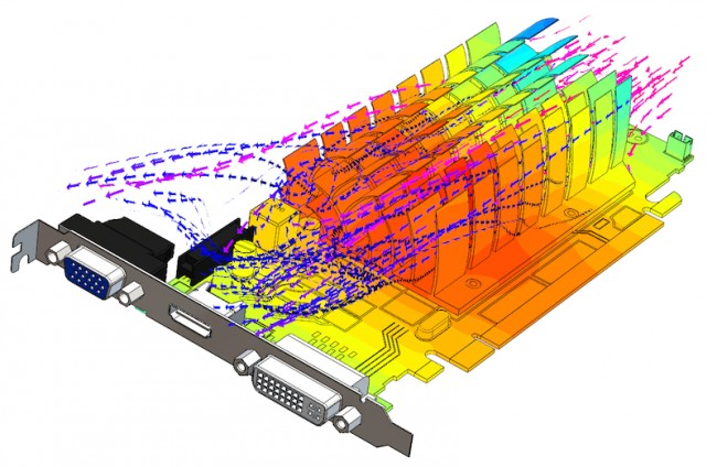 <em>Modeling conduction within solid structures is increasingly important (Mentor Graphics.)</em>