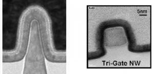 The revised BSIM4 handles different structures such as Intel's trigate and the trigate nanowire from ST/CEA-Leti