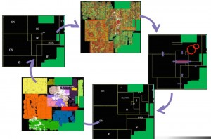 Multiple rounds of floorplanning help ensure a design's implementation has a good starting point (Source: Synopsys)