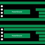 Power grid signal track blocking