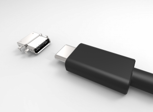 The USB Type-C connectorworks either way around (Source: USB.org)