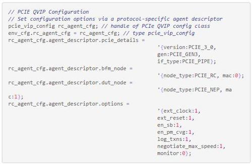 Figure 3. Code snippet (b) for 'struct' descriptor (Mentor Graphics)