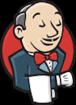 Jenkins automation server logo