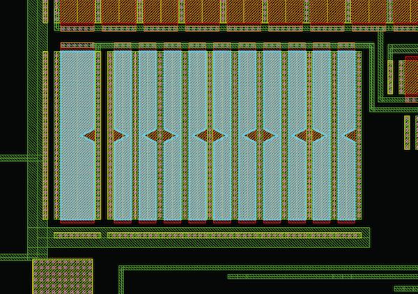 Figure 2b. Typical analog constraint error: Anti-parallel current vectors (Mentor Graphics)