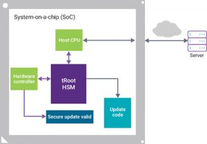 The secure update process (Source: Synopsys)