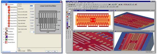 Integrated MEMS design environment
