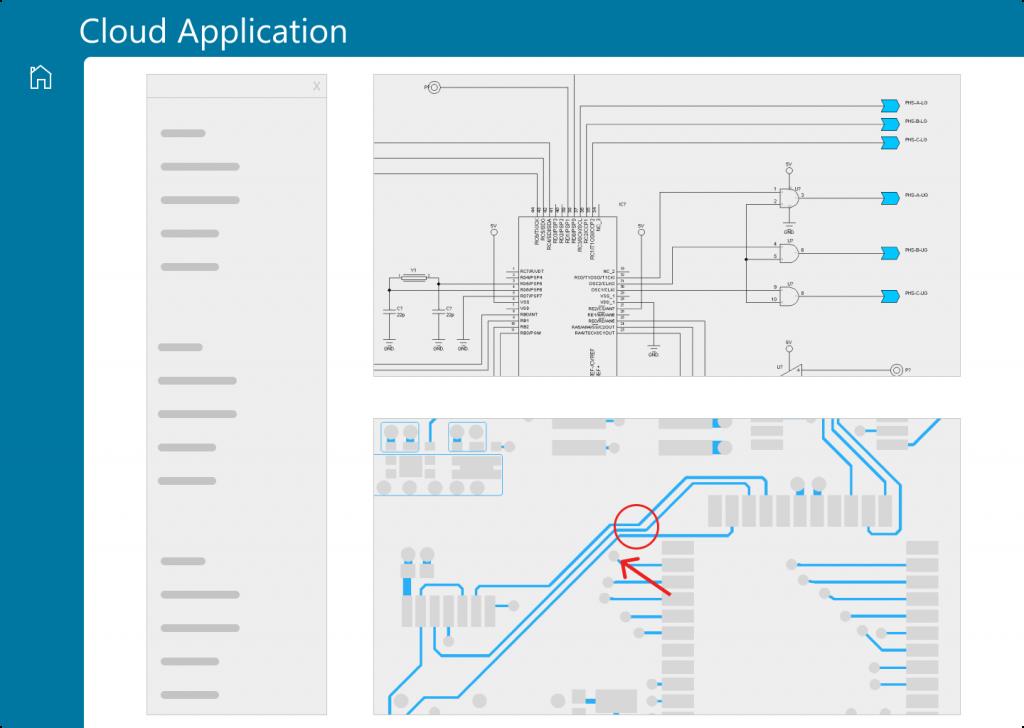 Figure 2. Visualization and markup log (Siemens)