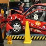 Automotive crash test