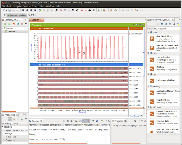 Sourcery Analyzer has been updated for multicore embedded Linux developers (Source: Mentor Graphics)