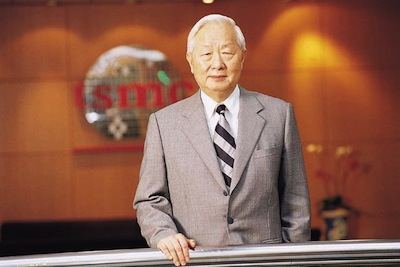 Dr Morris Chang, chairman, TSMC (Source: TSMC)