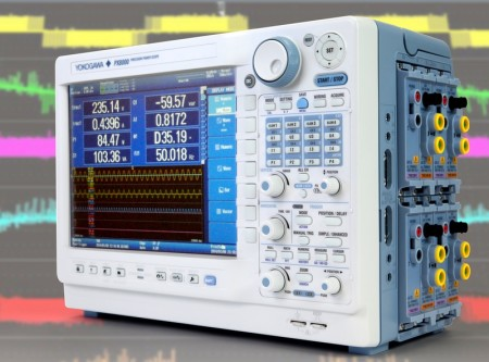 Yokogawa's PX8000 power-analysis instrument