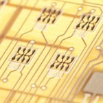 Transistors on IDTechEx Printed Electronics 2014 demonstrator