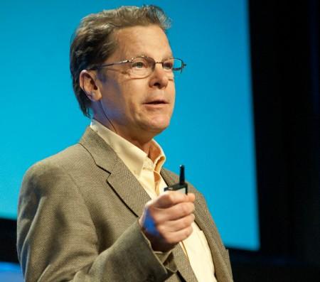 Intel's Ernie Brickell speaking at DAC 2014