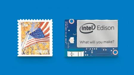 The Intel Edison processor module