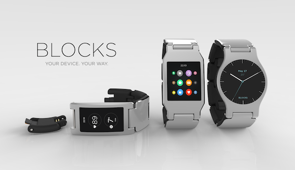 Blocks allows owners to mix and match straps, faces and functions (Blocks)
