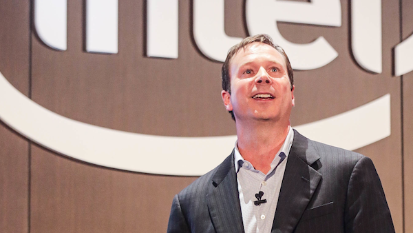 Intel's Kirk Skaugen unveiled an upgrade to the company's IoT Gateway line at Computex (Intel)