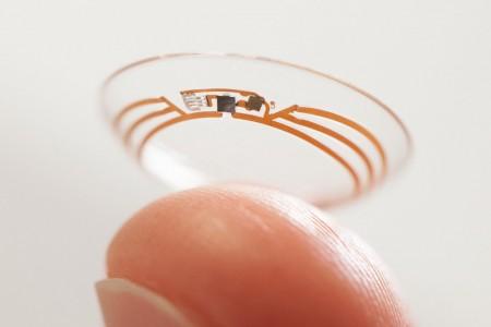 A prototype Google X smart lens