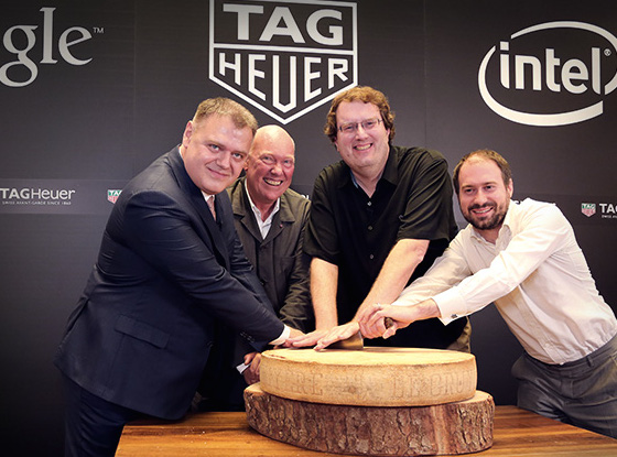 Intel and Google have partnered with Tag-Heuer on a new $1400 smartwatch (Tag-Heuer)