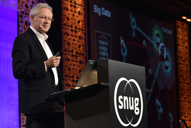 Aart de Geus: Think 'Smart Everything', including the design flow (Synopsys)