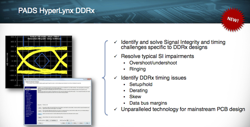 Figure 3. Summary of PADS HyperLynx DDR (Mentor Graphics)